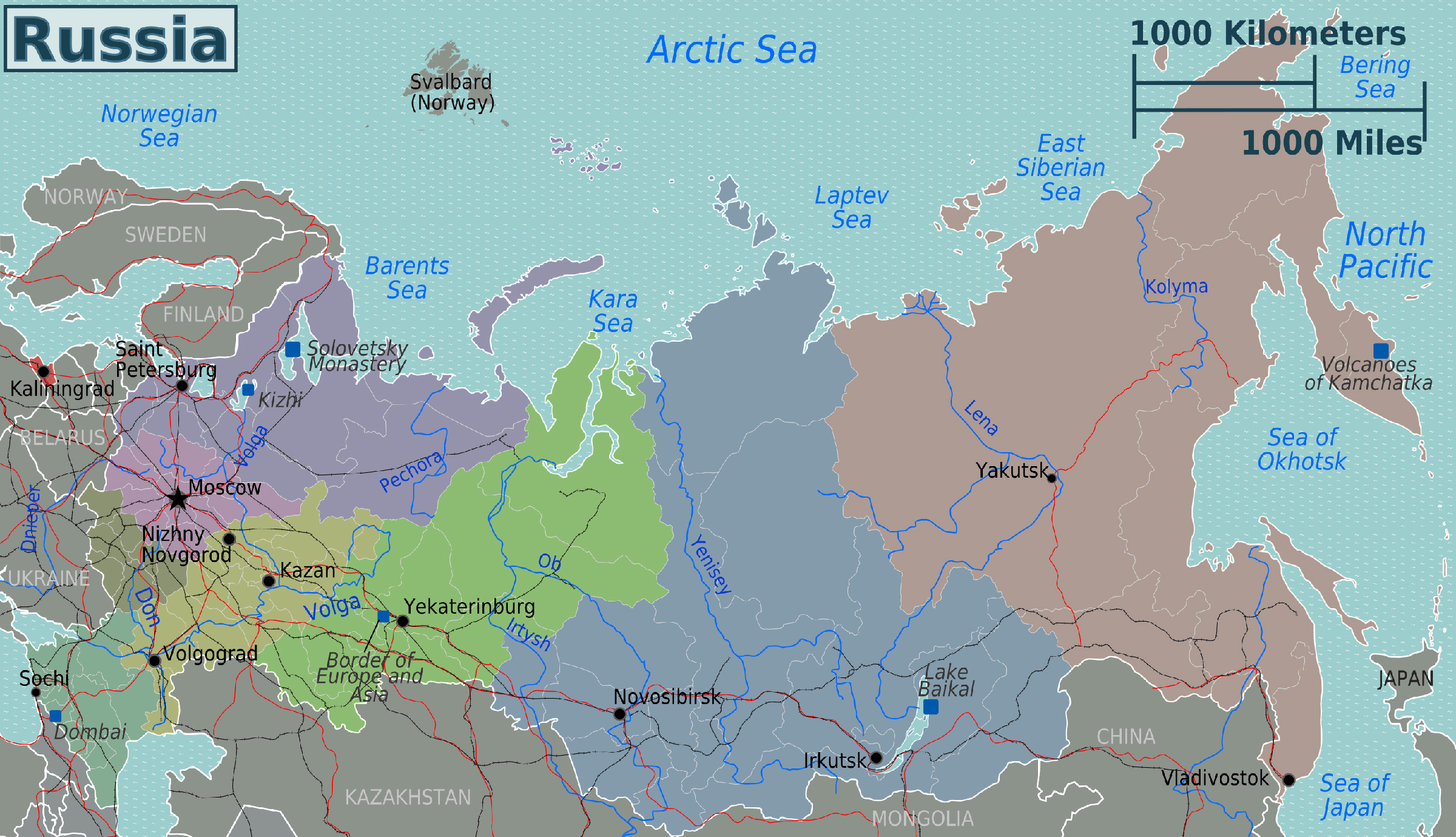an overview of russia Russian history: a brief summary situated on the great eurasian plane, russia has been vulnerable to invasions from both east and west (mongols, 13-14 th cent.